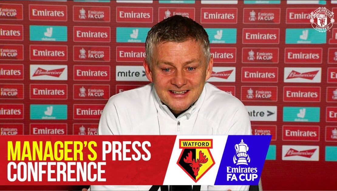 Team News | Manchester United v Watford | Emirates FA Cup | Manager's Press Conference