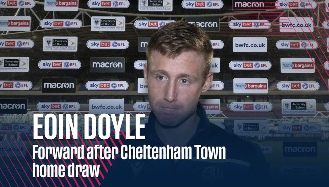 EOIN DOYLE | Forward after Cheltenham Town home draw