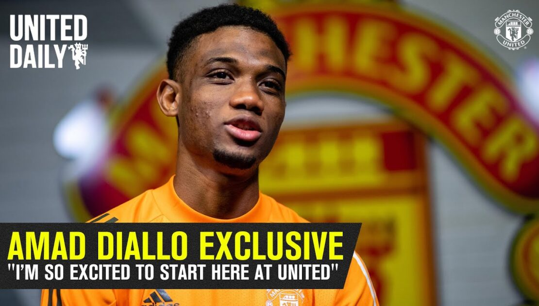 """""""I'm so excited to start here at United"""" 