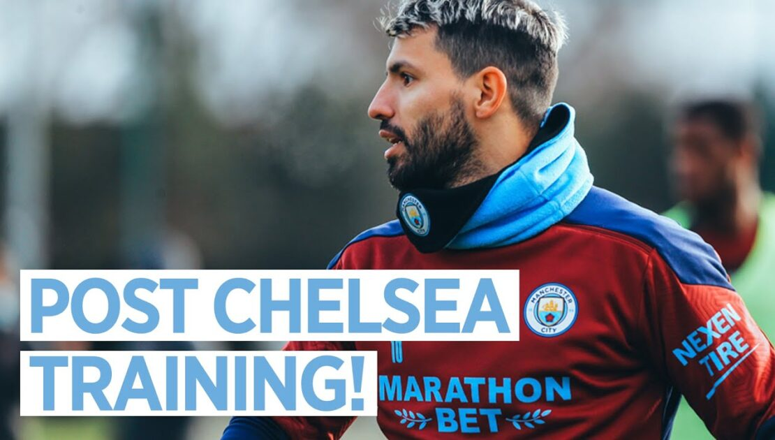 POST CHELSEA RECOVERY SESSION   TRAINING