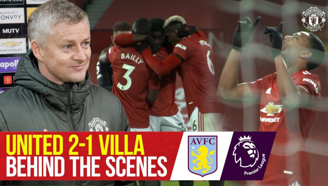 Behind the Scenes & Pitchside Cam | United 2-1 Aston Villa | Premier League | Access All Areas