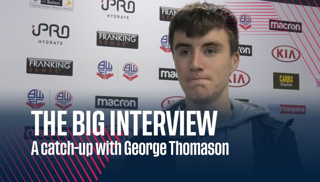 THE BIG INTERVIEW | A catch-up with George Thomason