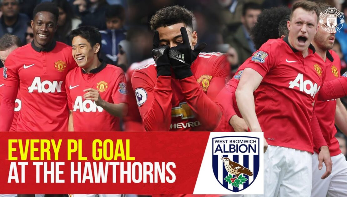 Every PL goal at West Brom   Premier League 2020/21   Manchester United