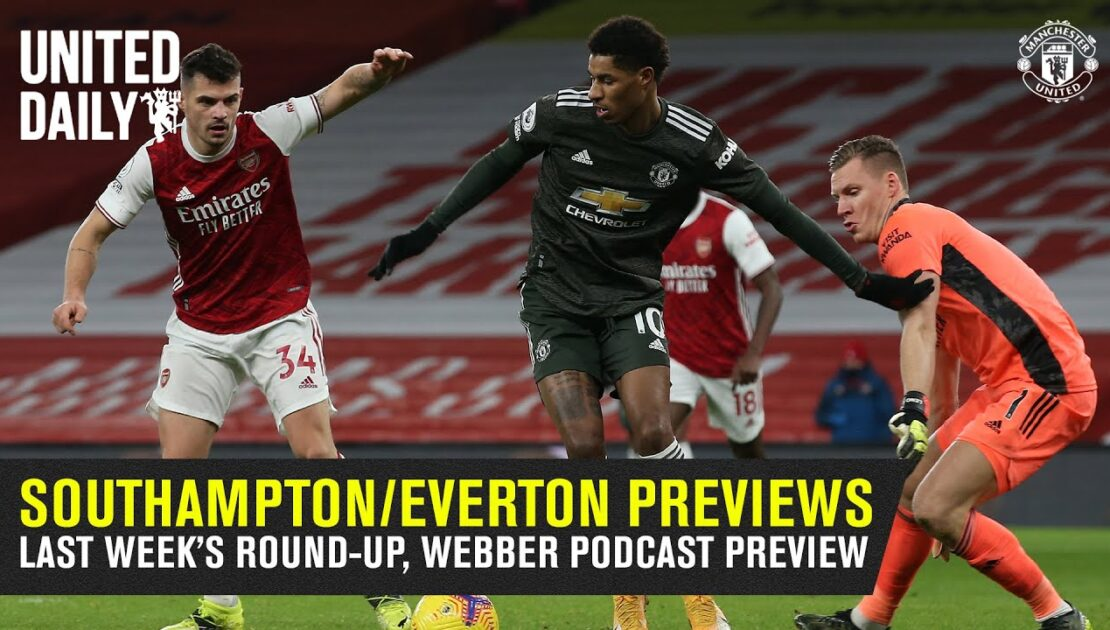 Group Chat | Southampton & Everton Match Previews | Your Comments | Manchester United