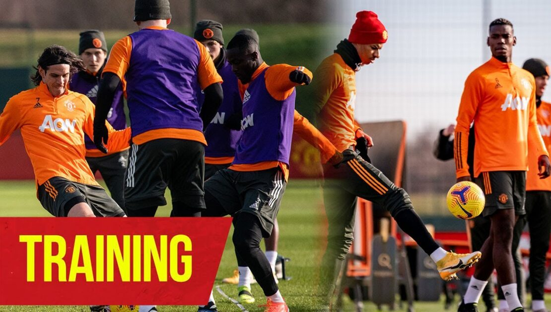 Training | United train ahead of Premier League clash against Southampton | Manchester United