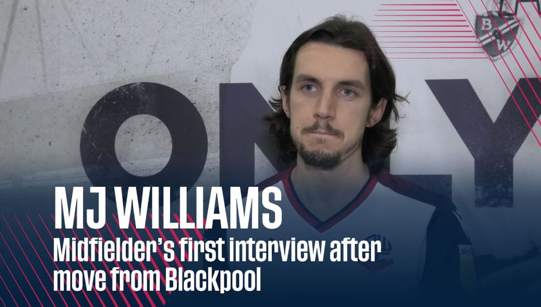 MJ WILLIAMS | Midfielder's first interview after move from Blackpool