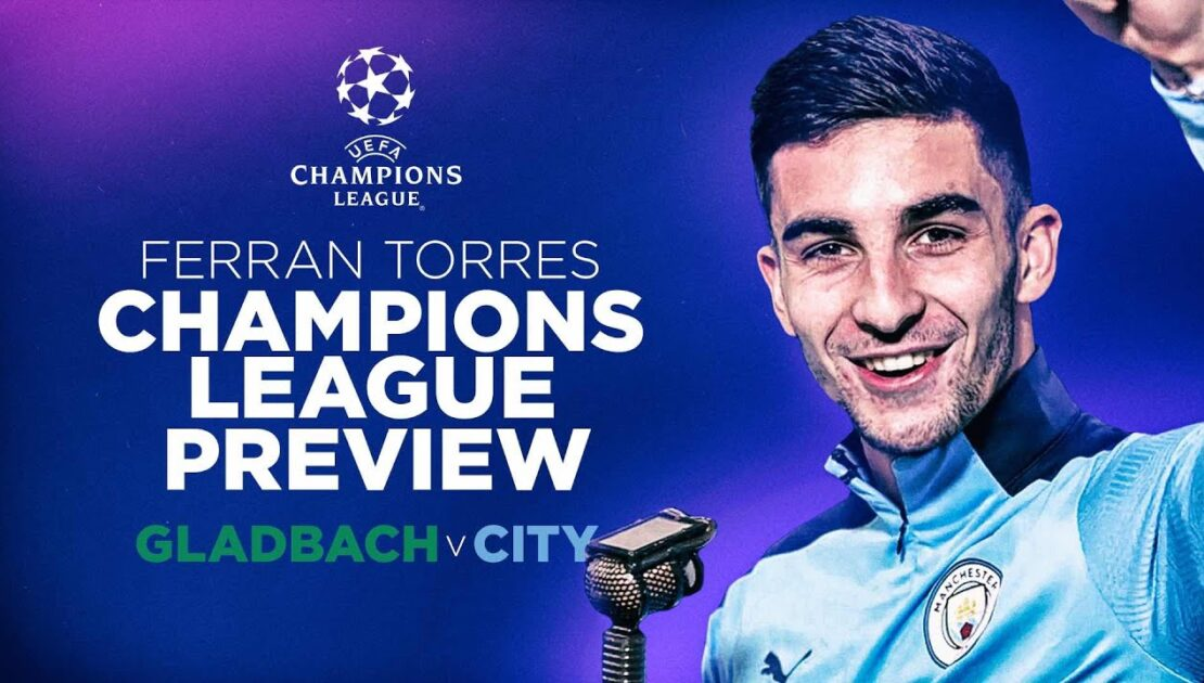 FERRAN TORRES COMMENTATES | Get back in the Champions League mood with goals goals goals!