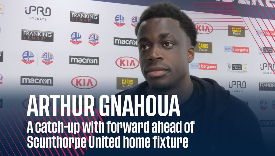 ARTHUR GNAHOUA | A catch-up with forward ahead of Scunthorpe United home fixture