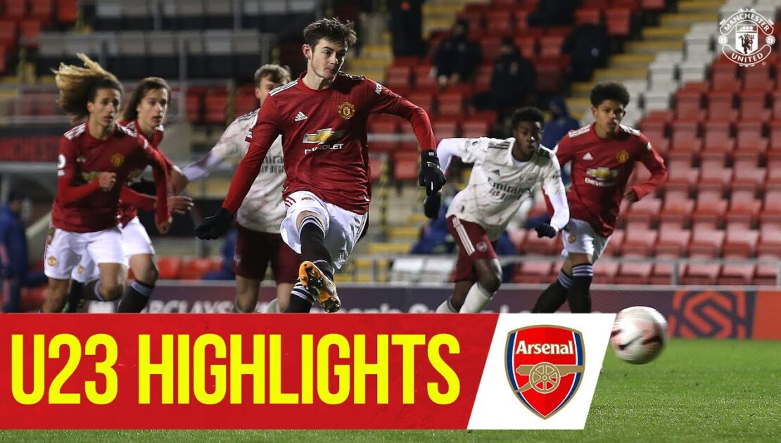U23 Highlights | Manchester United 3-0 Arsenal | The Academy