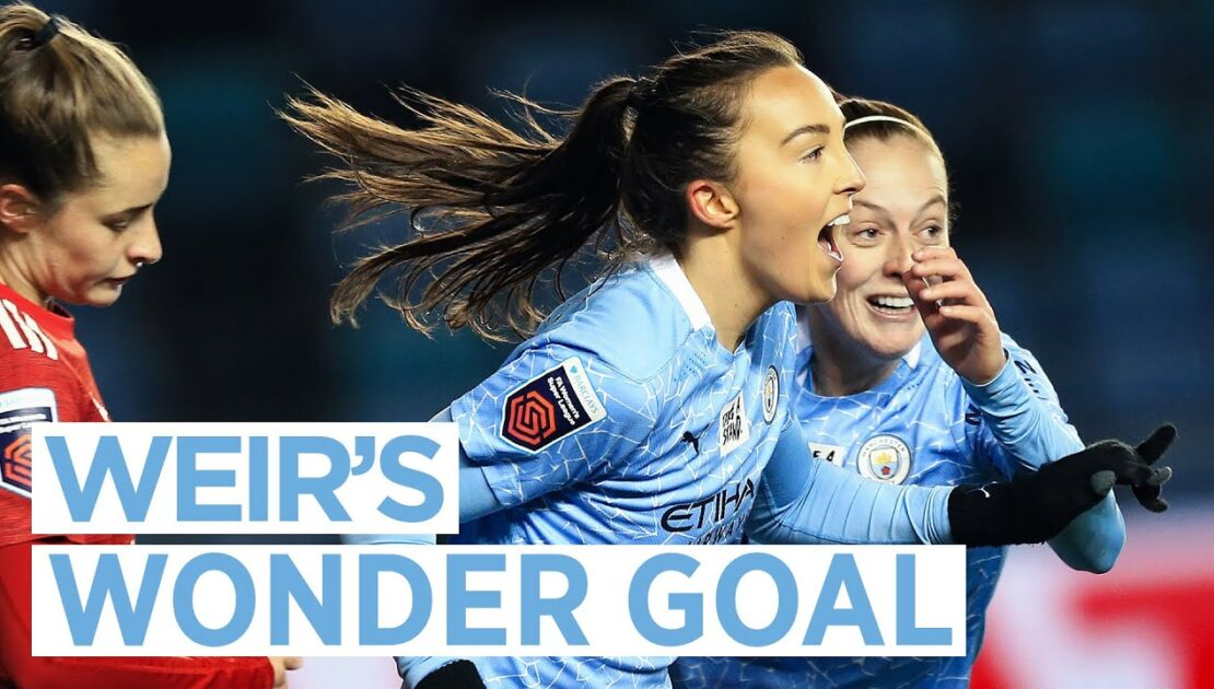 WEIR WONDER GOAL! | EVERY ANGLE | City 3-0 United