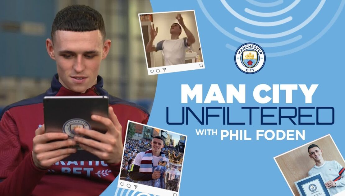 FODEN UNFILTERED | Phil Foden takes us through his Instagram