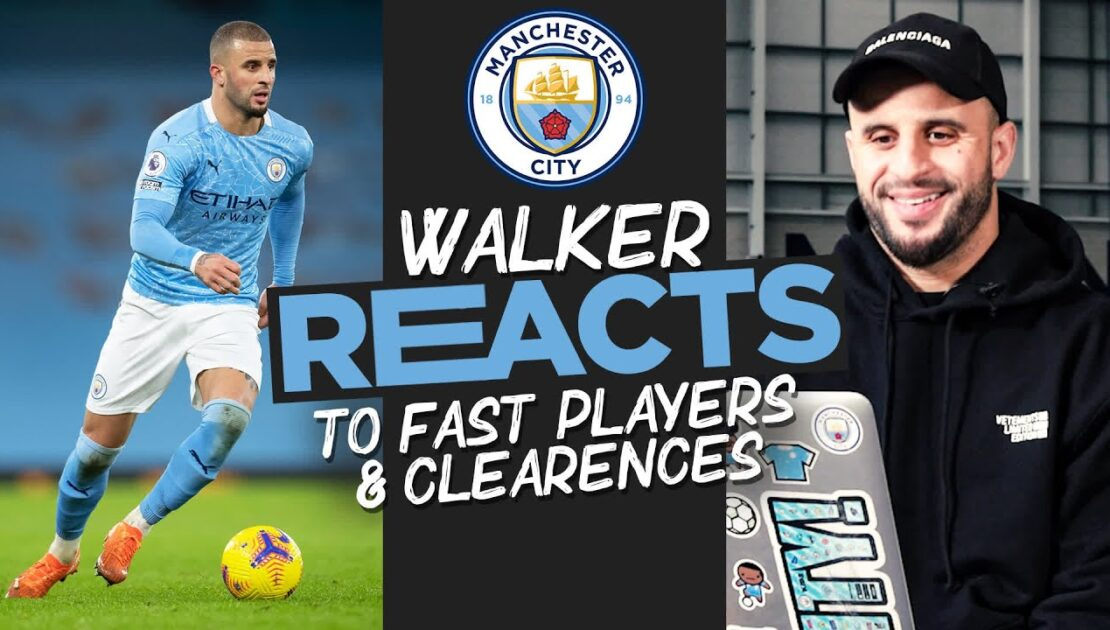 KYLE WALKER   'KDB with the ball is very, VERY quick'   Who is the Quickest player at Man City?