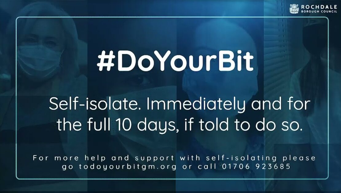 10 way to 10 days - Covid-19 self isolation support