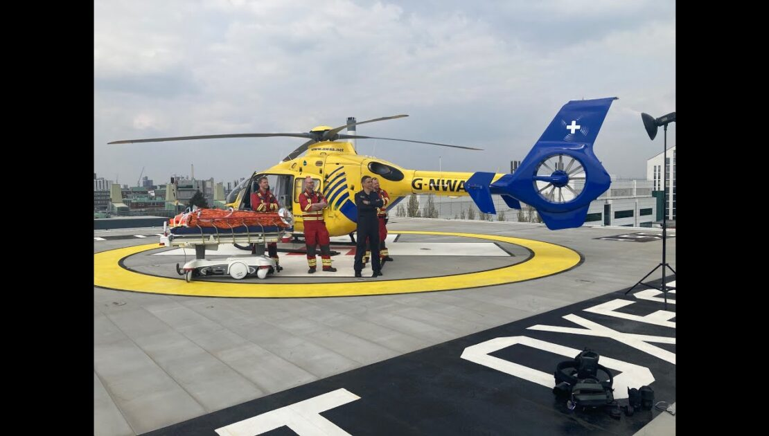 The new life-saving Helipad at Manchester University NHS Foundation Trust has opened!