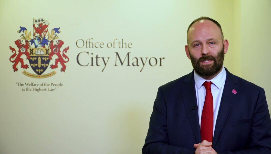 City Mayor Paul Dennett – post election speech.