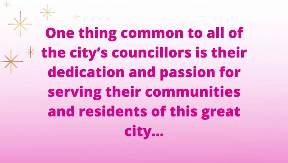 Councillors retirement video