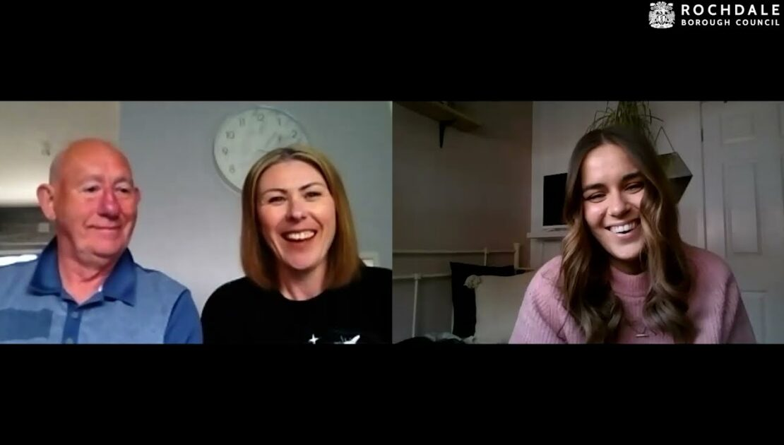 Foster carers Angela and Barry chat to us about fostering