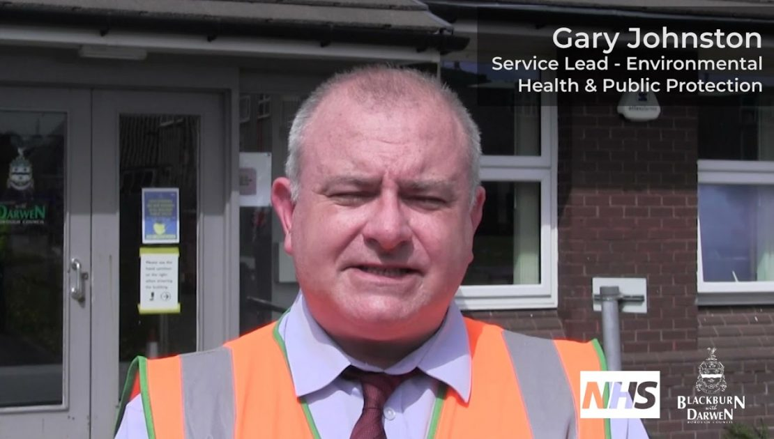 Gary Johnston shares his vaccination experience