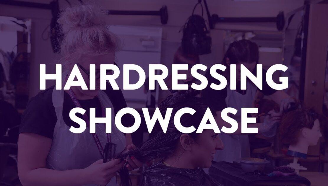 Hairdressing Management Showcase - Bury College University Centre