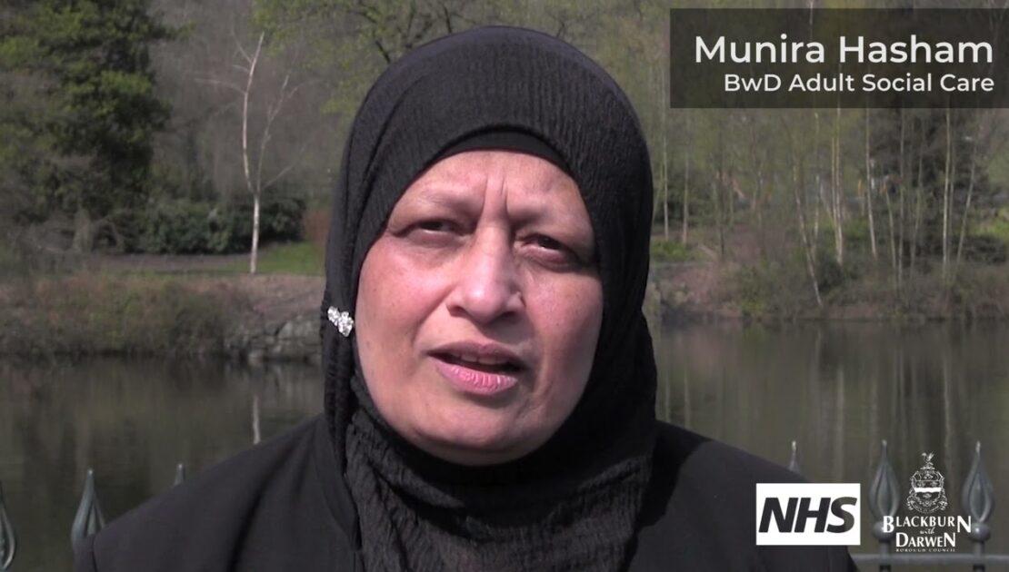 Munira Hasham shares her vaccination experience