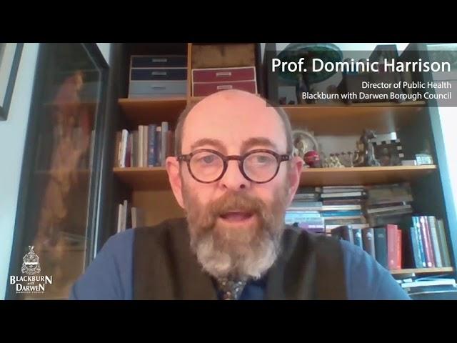 Prof. Dominic Harrison's surge testing message