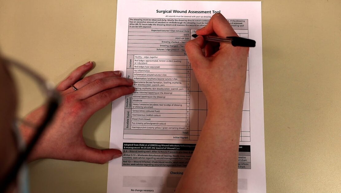 Surgical Wound Assessment Tool
