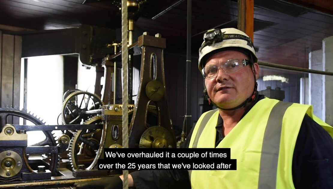 The Manchester Town Hall Clock Restoration