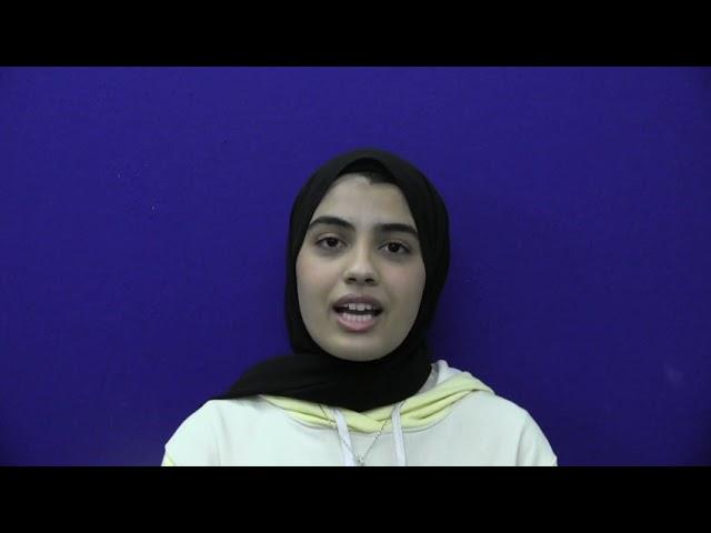 Deputy Youth MP, Zainab Dassu, encourages residents to Test & Go