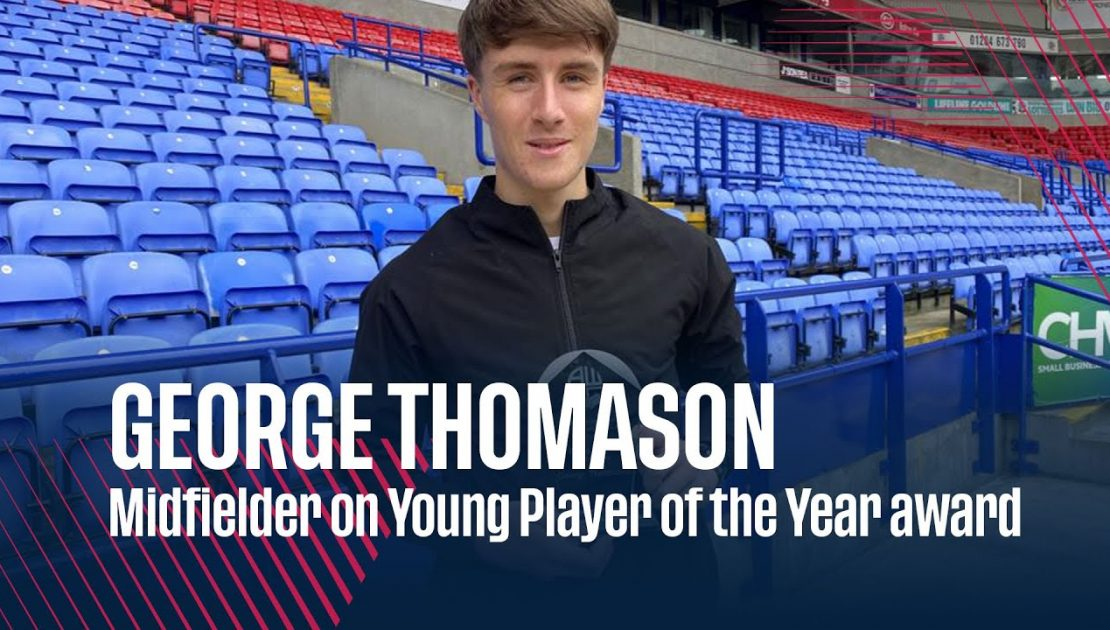 GEORGE THOMASON | Midfielder on Young Player of the Year award
