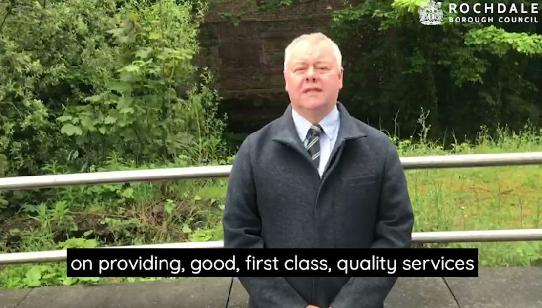 Leader of the council outlines his priorities