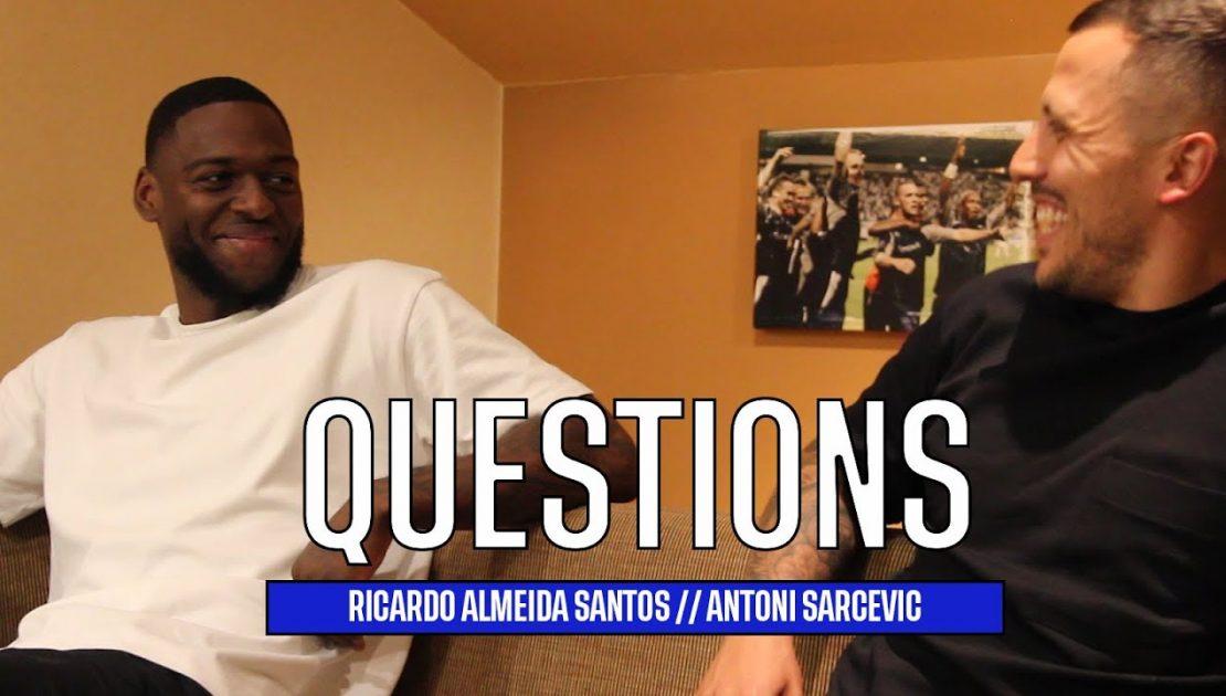 QUESTIONS   with Ricardo Almeida Santos and Antoni Sarcevic