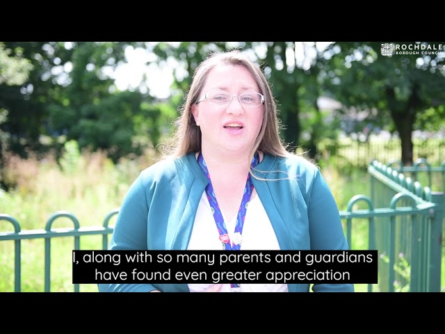 Councillor Rachel Massey sends a message to schools and staff