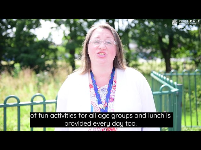 Councillor Rachel Massey speaks about the summer holiday
