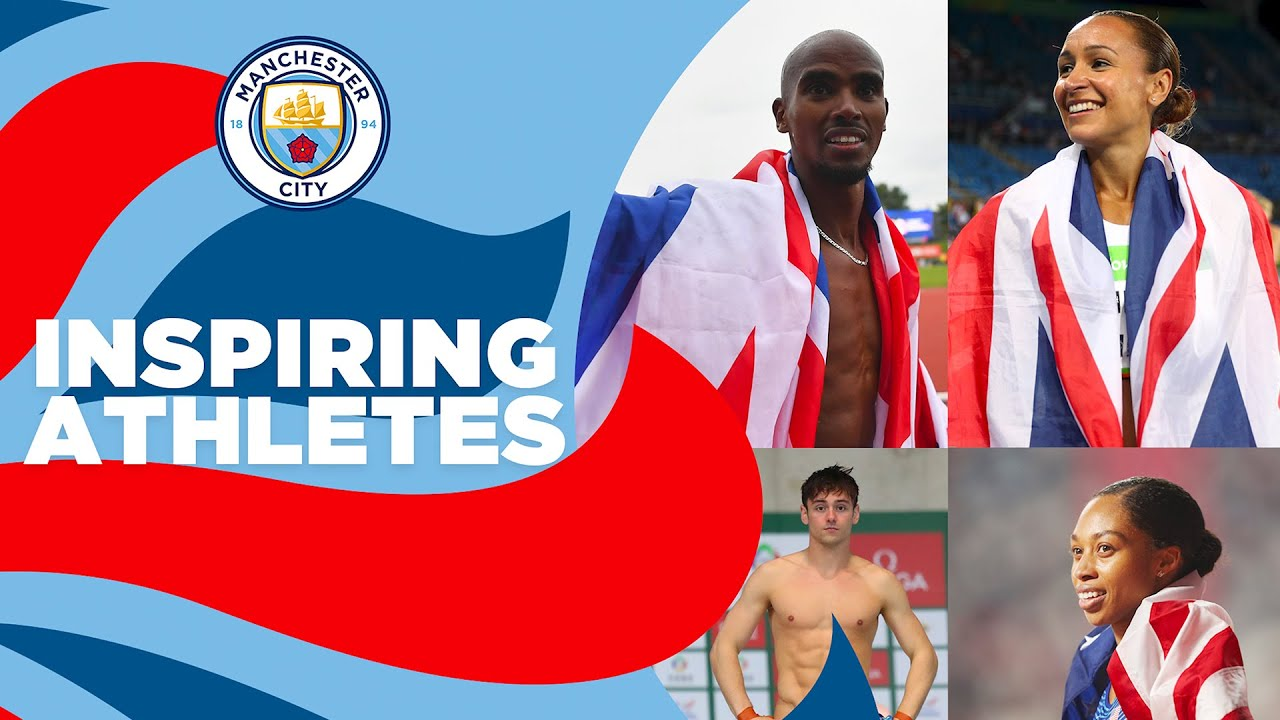 INSPIRATIONAL ATHLETES   Who has inspired you?