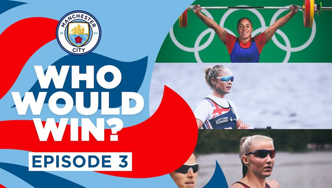 WHO WOULD WIN?   Episode 3   Rowing, Triathlon, Weightlifting