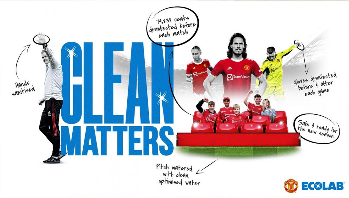 Clean Matters - Introducing Ecolab | Manchester United