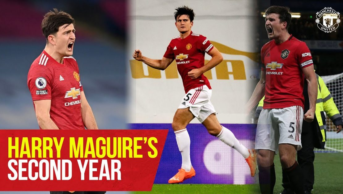 Harry Maguire's Second Year At United | Manchester United