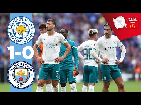 HIGHLIGHTS | LEICESTER 1-0 MAN CITY | Community Shield 21/22