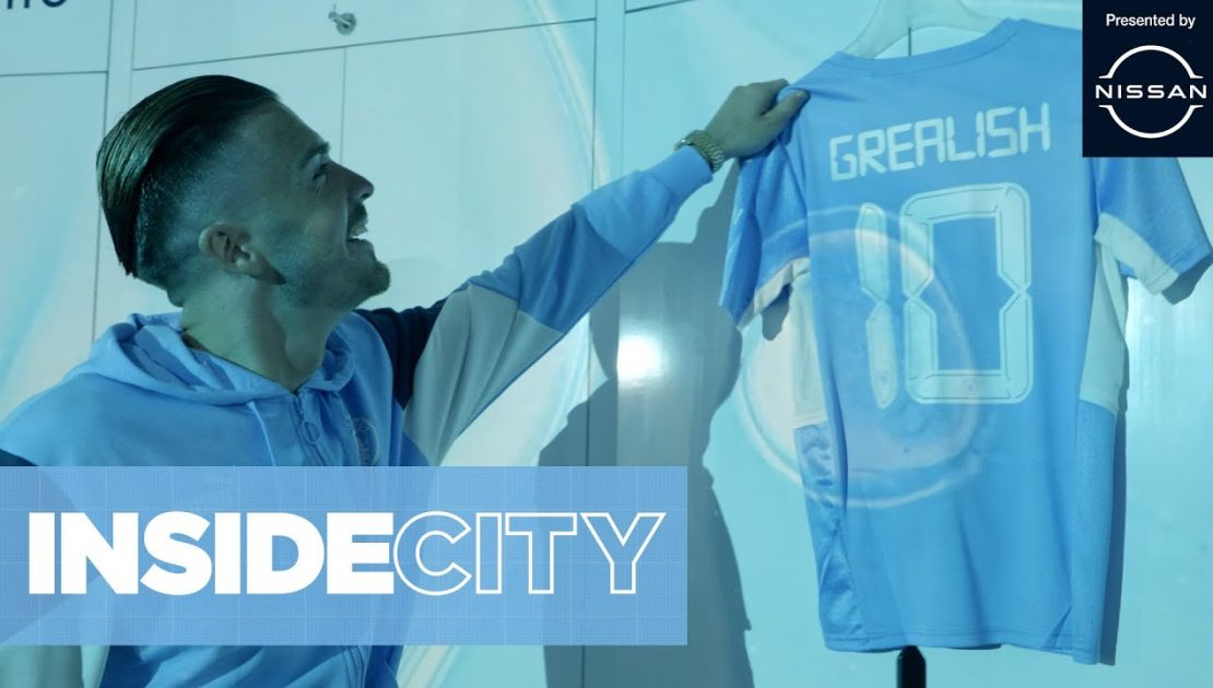 Jack Grealish's First Day at Man City   INSIDE CITY 382