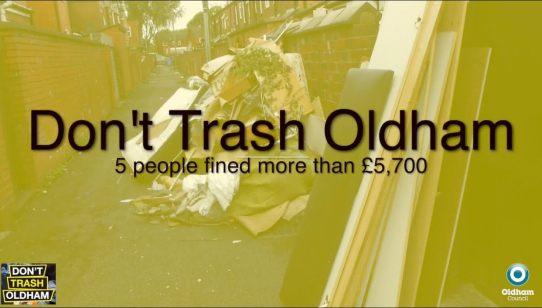 Residents prosecuted for fly-tipping