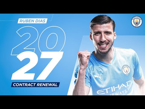 Rúben Dias New Contract | Man City and Portugal Defender signs until 2027!