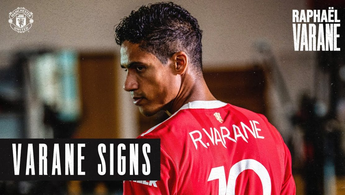 Welcome to Manchester United Raphael Varane! | New Signings 2021/22