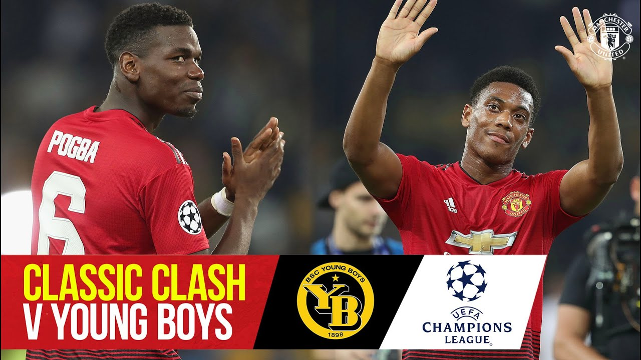 Classic Clash | Pogba & Martial strike in Switzerland | Young Boys 0-3 Manchester United (18/19)