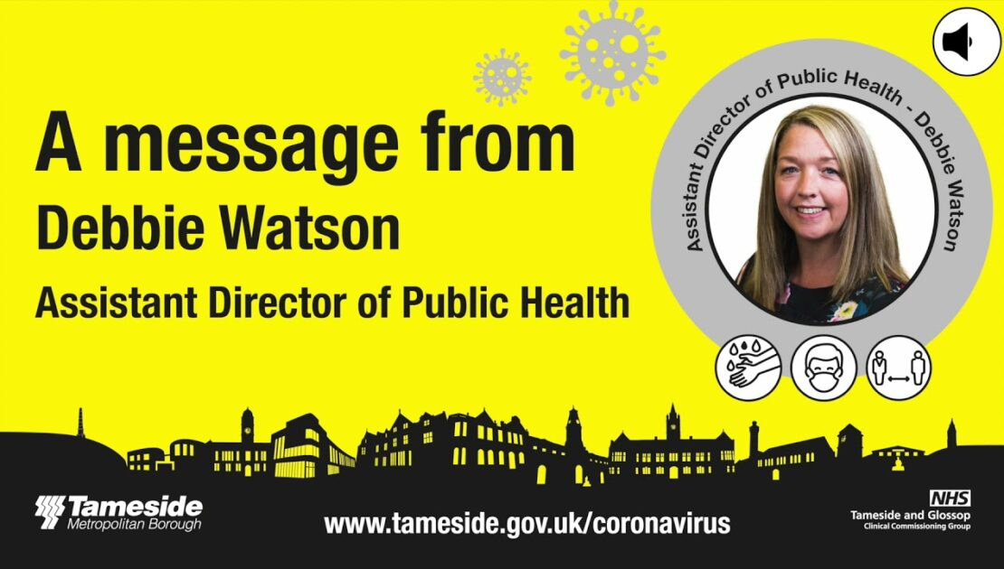 A message from Assistant Director of Public Health, Debbie Watson