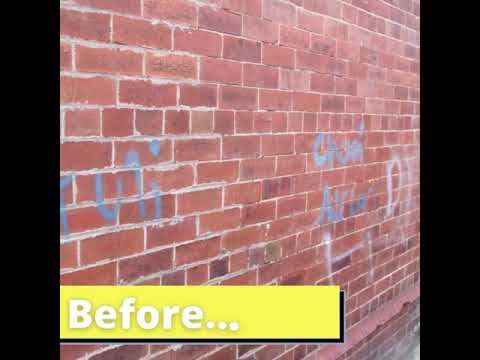 Graffiti on the Streets - Part 1 (Before and After) #DontTrashOldham
