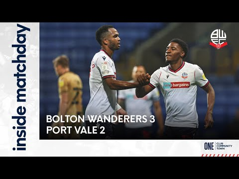 INSIDE MATCHDAY | Episode 7: Bolton Wanderers 3-2 Port Vale