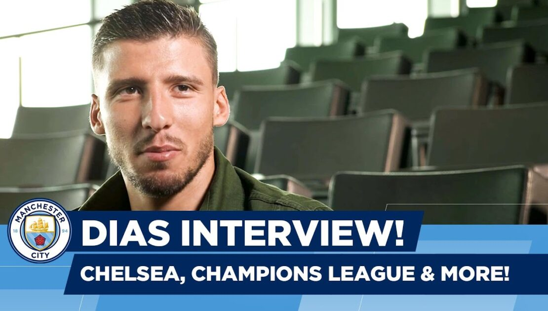 Ruben Dias on the Chelsea win, looking ahead to big games!