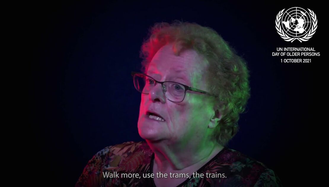 UN International Day of Older Persons - Beryl