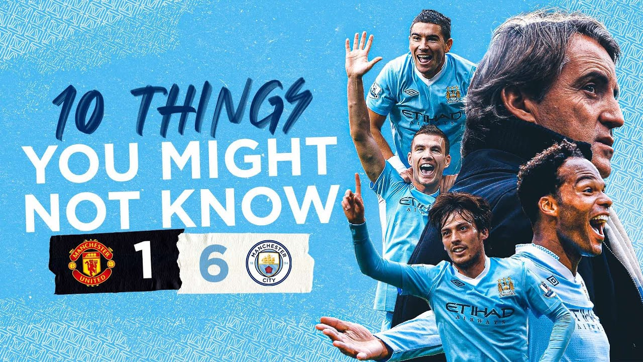 10 FACTS ABOUT THE 6-1 DEMOLITION DERBY | United 1-6 City 10th Anniversary