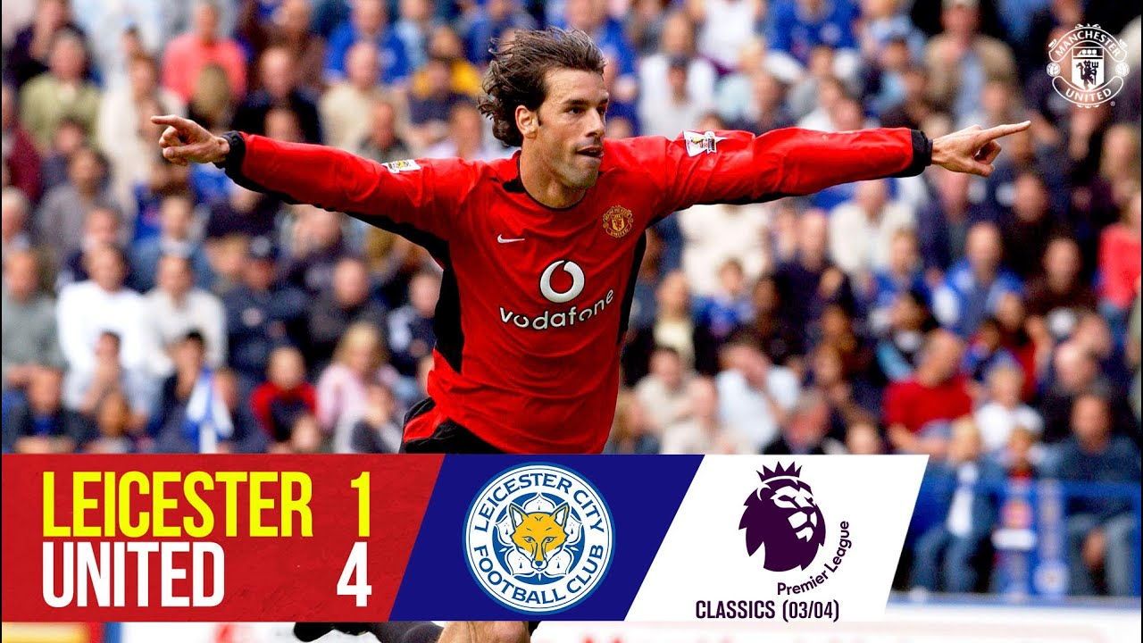 Van Nistelrooy hat-trick sinks the Foxes | Leicester City 1-4 Manchester United (03/04) | Classics